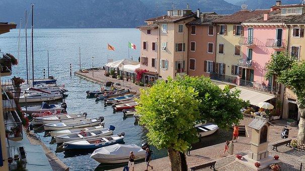 Lake, Garda, Water, On The Lake, Piazza, Porto