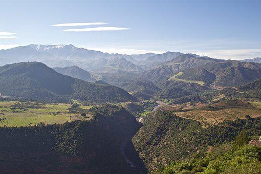 Morocco, Mountains, Atlas Mountains, Atlas