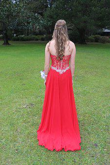 Dress, Prom, Girl, Fashion, Gown, Female, Young