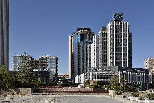 City Of Madrid, Financial Area, Paseo De La Castellana