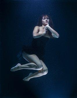 Underwater, Fashion, Fine Arts, Freedom, Life, Women's