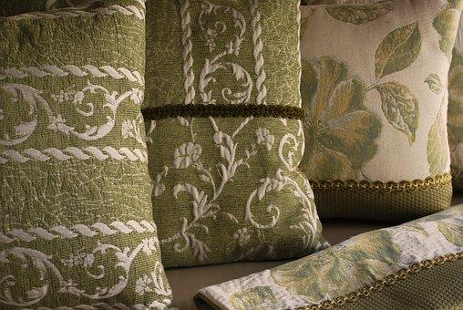 Pillows, Living Room, Fabrics, Arredo, Furniture