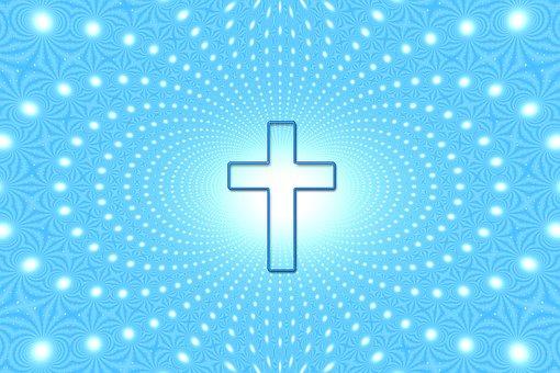 Beyond, Cross, Faith, Sky, God, Religion, Rays, Light