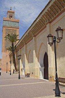 Morocco, Marrakech, Facade, Moroccan, Ornament