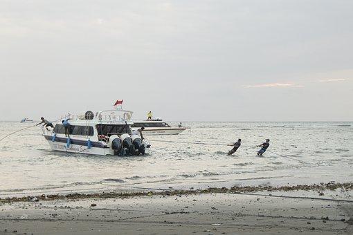 Ship, Boat, Speedboat, Transportation, Transport, Ocean