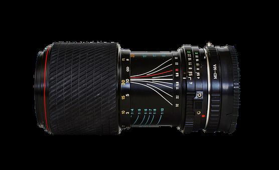 Lens, Wide Angle, Tokina, Photograph, Old, Camera