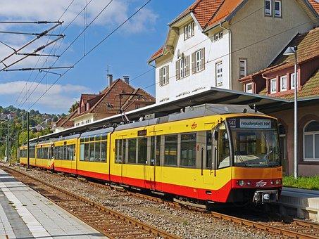 Joy City Hbf, Tram, Overland Track, Light Rail