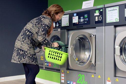 Laundry, Washing Machine, Wash, Self-service, Trade