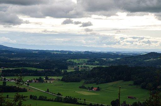 Tube Village, Hiking, Isny, Panorama, Lake Constance