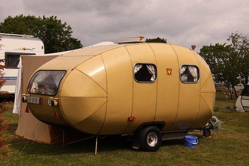 Camping, Wagon, Holiday