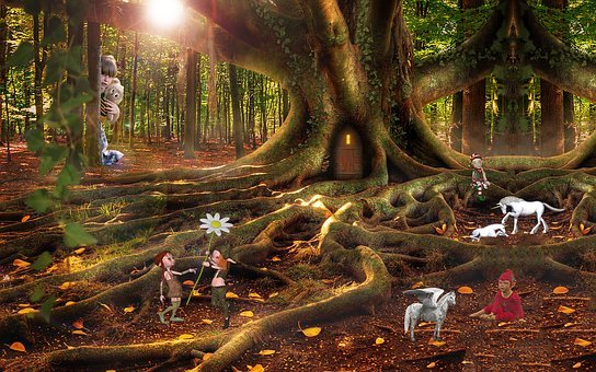 Fantasy, Girl, Elves, Fantasy Picture, Child