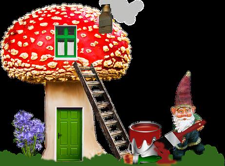 Gnome, Home, Fantasy