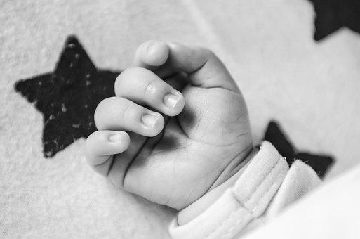 Handle, The Hand, Child, Hands, Finger, Baby, Toenail