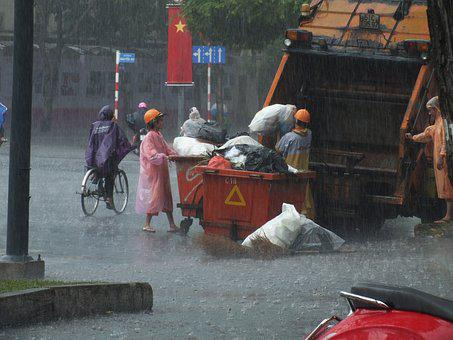 Rain, Work, Man, Sad, Hands, Difficult, Bad, Working