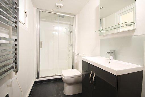 Shower, Luxury, Design, Modern, Bathroom, Home