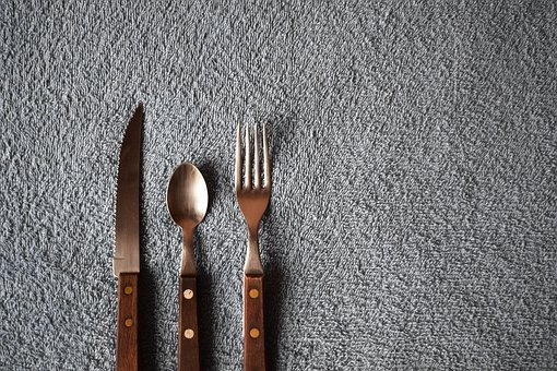 Spoon, Fork, Knife, Kitchen, Cutlery, Utensils, Tools