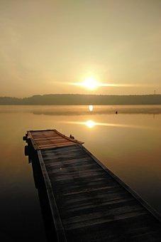 Lake, Pond, September, Morning, Peace Of Mind