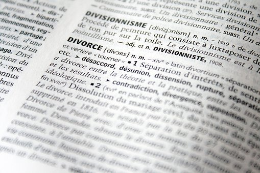 Divorce, Justice, Dictionary, Right, Legal, Separation