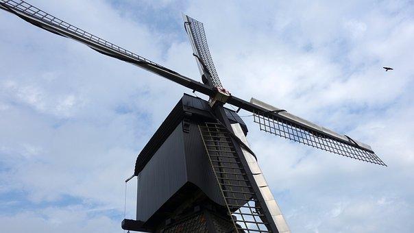 Mill, Wipmolen, Wicks, Mill Blades, Mill Detail