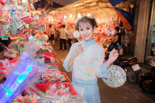 Mid-autumn, Festival, Lantern, Moon, Chinese, Autumn