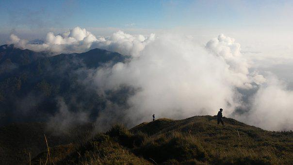 Clouds, Mountain, Nature, Scenery, Travel, Sky, Summer