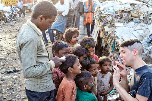 Poor, Slums, India, People, Kids, Child, Place, City