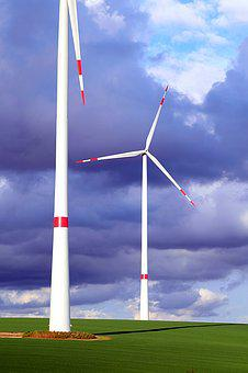 Wind Power, Eco Electricity, Pinwheel