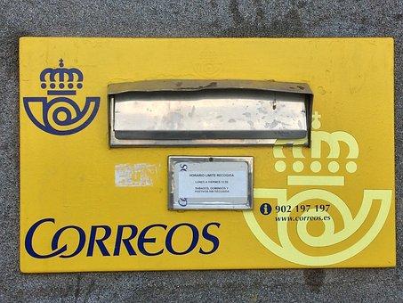Correos, Postbox, Spain, Mail, Post, Postal, Mailbox