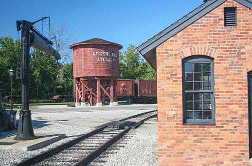 Rail Yard, Rail, Historic, Museum, Yard, Transport