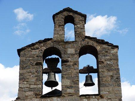 Belfry, Campaigns, Romanesque, Santa Maria De Cardet
