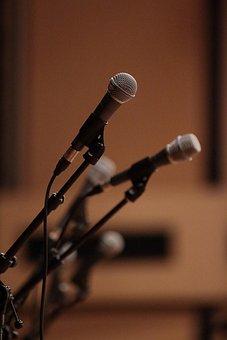 Microphone, Music, Singer, Sing