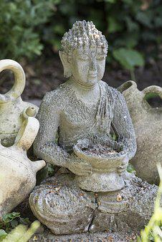 Buddha, Image, Buddhism, Peace, Stone, Spiritual