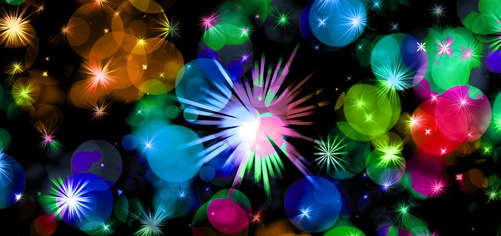 Star, Celebration, Drive, Background, Balloon, Colorful