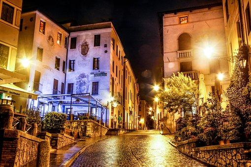 Night, City, City At Night, City Night, Urban