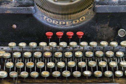 Typewriter, Vintage, Typing, Old, Mechanical, Antique