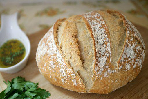Fresh, Bread, Food, Bakery, Wheat, Brown, Healthy, Loaf