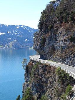 Alpine, Mountains, Mountain Road, Gebrige, Rock