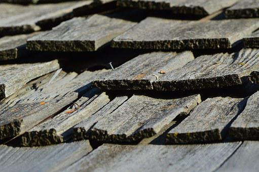 Wood, Shingles, Roof, Exterior, Wooden, Architecture