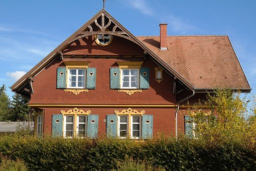 House, Building, Residence, Woodhouse, Wood Paneling