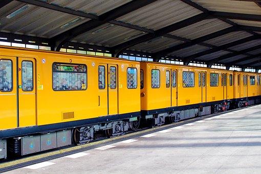 Berlin, S Bahn, Railway Station, Train, Capital