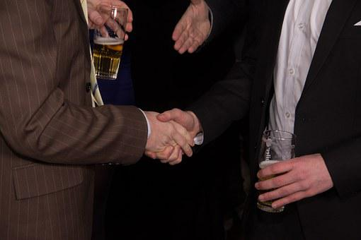 Hands, Hand Shaking, Agreement, Celebrate