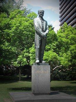 Antonín Dvořák, Statue, Composer, Karlsbad