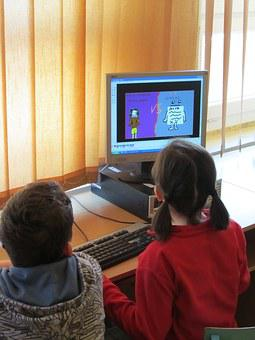 Children, Students, Painting, Drawing, Paint, Computer