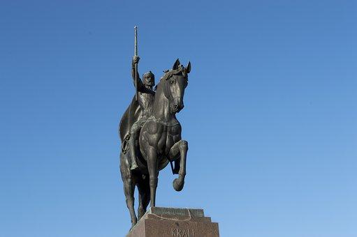 Tomislav, Zagreb, Croatia, King, Statue, Monument