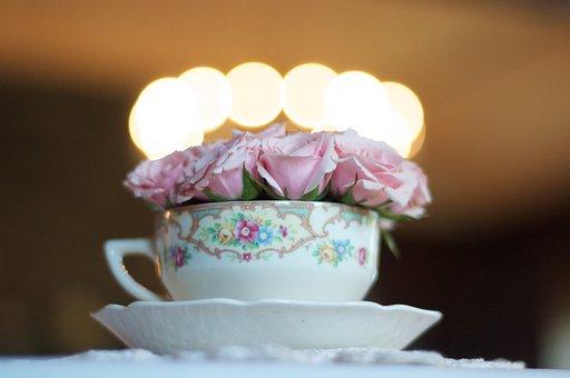 Wedding, Tea Cup, Flower, Tea, Cup, Coffee, Food, Party