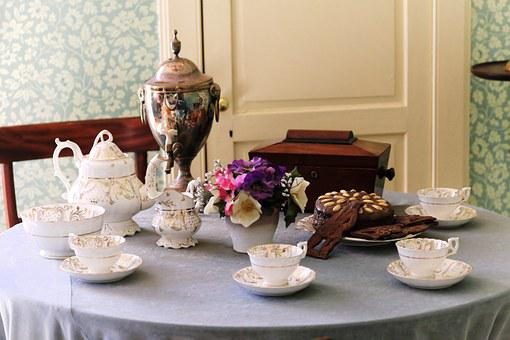 Tea, Cup, Table, Teapot, Decoration, Decorative, Drink