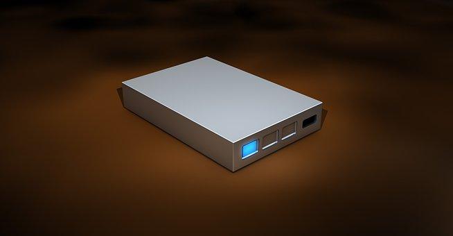 Hard Drive, Storage Medium, Digital Data, Disk
