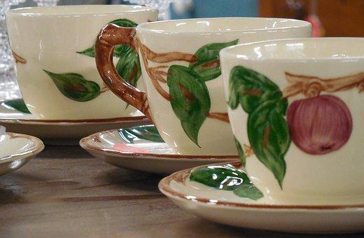 Ceramic, Teacup, Tea, Cup, Drink, Beverage, Porcelain