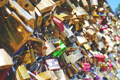 Love Locks, Love, Love Castle, Symbol, Eternal Love