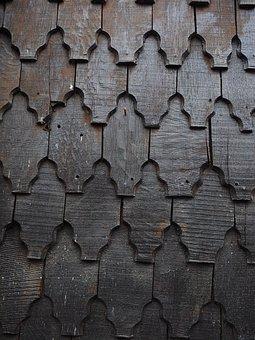 Shingle, Wood Shingles, Facade Cladding, Wood